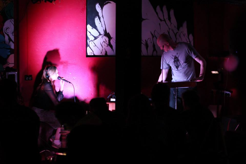Duet with Jono Podmore at Tuesdays Post May 2014..
